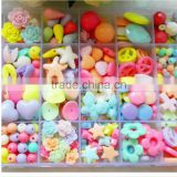 New Arrival Various Acrylic Plastic Beads DIY Beads Set For Children Jewelry Making DIY-004