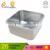 Single bowl free standing commercial industrial hotel restaurant custom stainless steel kitchen sink cabinet