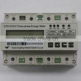 MODBUS DF433 distribition station transduser three phase din rail energy meter power meter