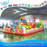 Cheap price commercial outdoor inflatable bouncy castle with water slide for sale                                                                         Quality Choice