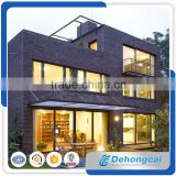 French style thermal break aluminum sliding window for prefab house with tempered glass made in China