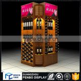 Factory product wood whiskey bar display cabinet
