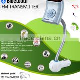 Bluetooth car kit with steering wheel remote control and MP3 USB SD FM transmitter