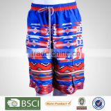 China Manufacturer Rashguards Pattern Printed Customized Pants For Men Beachwear