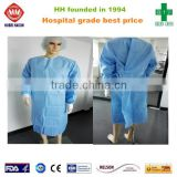 Book Folding Blood Resistance Disposable X-Large Set-In-Sleeves Surgical Gown                                                                         Quality Choice