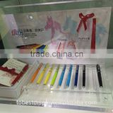 Fashion business pen showcase, pen cabinet, acrylic pen display stand