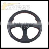 "Auto Part 14"" Sport Carbon Steering Wheel, Racing Universal Factory Steering Wheel For Cars"