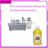 Henan Colunte factory directly sell sex lady massage/body massage oil for women filling machine
