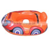 colorful car-shape inflatable baby boat,baby swim trainer