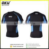 custom compression tight shirts, compression wear for man, Fitness compression tshirts