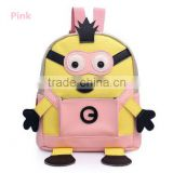 New Style Children School Bag Hot Minions School Backpack Cartoon Backpack Bag