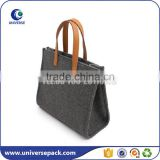 High quality OEM felt tote bag for ladies                                                                                                         Supplier's Choice