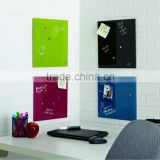 in meeting room 45x45cm glass message board