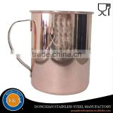 new arrival stainless steel india manufacturer moscow mule copper cups