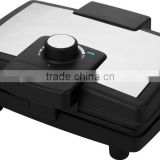 mini stainless steel housing square Electric Waffle Maker machine
