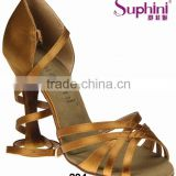 Suphini Top Selling Latin Shoes Elegant Dance Shoes,Classic Lady Salsa Shoes 2 colors Special Price in May