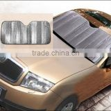 Portable Folding Auto Car Windshield Block Sun Shade / car cover sun shade / car windscreen sun shade