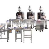 (LB450) Auto bag arranging and boxing machine set