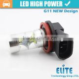H8/H9/H11 45W LED Car Fog Light High Power Xenon led White DRL Bulb wholesale