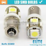 ba9s auto led lamp 12v 24v led interior bulbs 5w/9w 5050