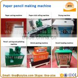 Industrial automatic waste paper pencil making machine / recycled paper pencil manufacturing machine