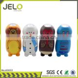 Ningbo JELO Hot Sales Promotion Super Bright 1LED Hand Press Animal Torch Cheaper Gift Flashlight