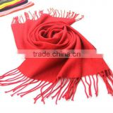 190*65cm Womens Cashmere Solid Color Pashmina Silk Scarves Tassels Scarf Wrap Shawl Stole