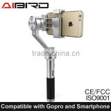 Factory supply Uoplay 3 axis gimbal stabilizer for iPhone 6 Plus and Go pro 3 3+ 4