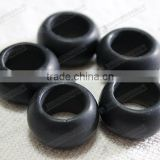 Matte black onyx beads for rings/pendants