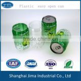 wholesale PP easy open can PET easy open can for canned fruit high temperature resistance