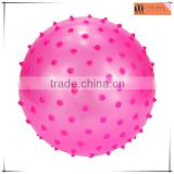 PVC red knobby inflatable house ball play,OEM inflatable garden pool ball toys,custom OEM wholesale ball toys factory