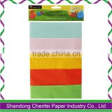 Food grade tissue paper wrapping tissue paper colored tissue paper wrapping paper tissue paper