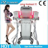 laser bio lipolysis weight loss slimming machine / lipo laser firm slim and beauty body shaper