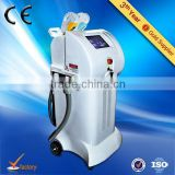 Most hot sale !!! pain free ce approved e-light ipl rf+nd yag laser multifunction machine