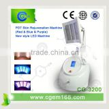 Touch Screen Skin Care Spot Removal Pdt Machine For Skin Tighten Red Led Light Therapy Skin