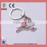 INquiry about English letter novelty I Love You couple keychain