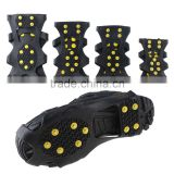 Outdoor Non-slip Spikes Snow Step Ice Crampons Shoes Grips Cleat Hiking Climbing