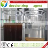Large supply high polymer flocculant decolorizing agent for paper making / industrial grade colorless chemicals price