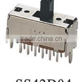 SS42D04 PCB mount slide switch