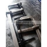 Japanese type forged F clamp for wood working