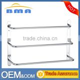 Wholesale Hotel Bathroom Accessories Wall Mount Stainless Steel Towel Rack