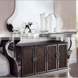 living room stainless steel furniture entrance table /console table