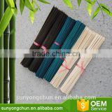 PVC Coated Color Bamboo Cane Flower Stick