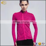 Ecoach long sleeve quick dry Body Shaper Tee Shirts sports wear Compression Tights gym Yoga running sports jacket