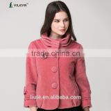 2014 latest design fashion women clothing factories in china plus size woolen korea women winter coat