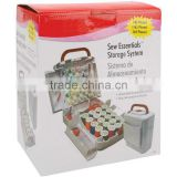165pcs compact sewing box