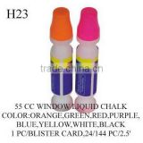 H23 55 CC WINDOW LIQUID CHALK