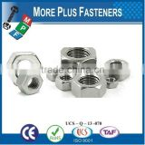 Made in Taiwan Heavy Hex Structural Black Phosphate Zinc Finish Hex Nut