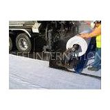 Road Construction Waterproof Polyester Fabric , nonwoven geotextile filter fabric