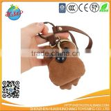 Plush Stuffed Dog Backpack Clip Keychain Keyring Animal Toy for Student